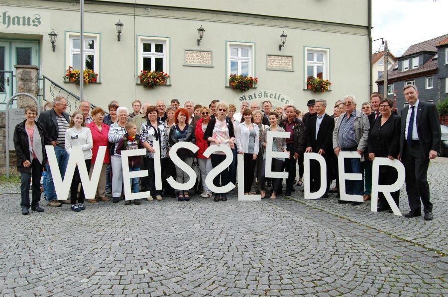 Jubiläumsfoto 2016 in Langewiesen