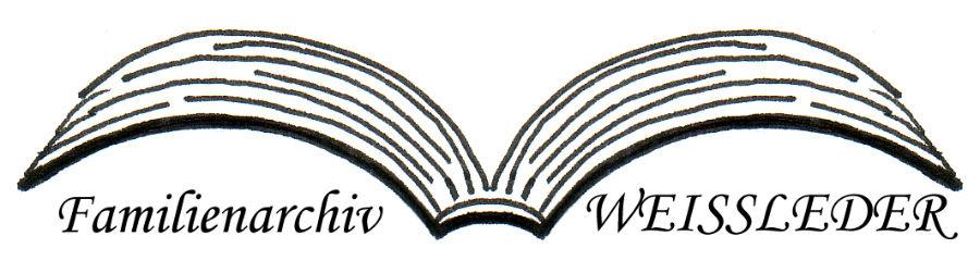 Logo Familienarchiv WEISSLEDER