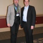 Dirk Weissleder (DAGV) und D. Joshua Taylor (NGS)