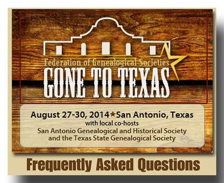 FGS Conference in San Antonio
