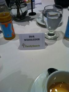 Zu Gast beim VIP Breakfast von FamilySearch