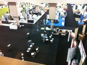 Ein Blick in die Ausstellung der NGS National Conference in San Antonio