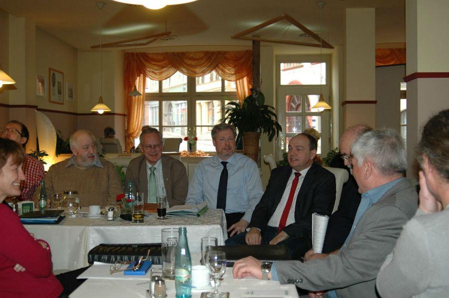 Knut Kreuch als Gast der 2. Praxiswerkstatt der DAGV (Foto: Hans-Joachim Lünenschloß)