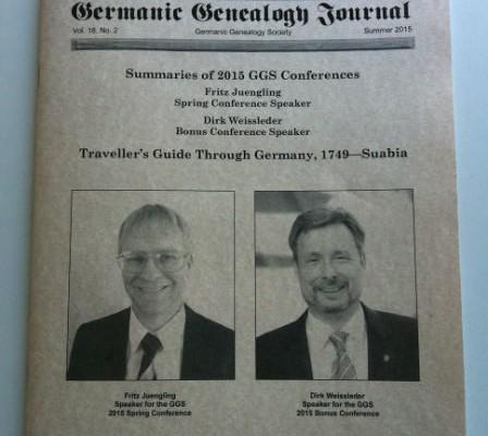 Germanic Genealogy Journal