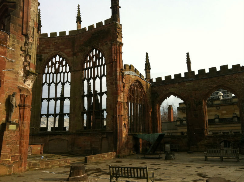 The old Cathedral of Coventry
