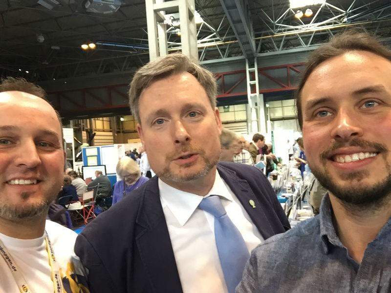 Selfie by Timo Kracke, Dirk Weissleder, Sebastian Gansauer (picture: Timo Kracke)