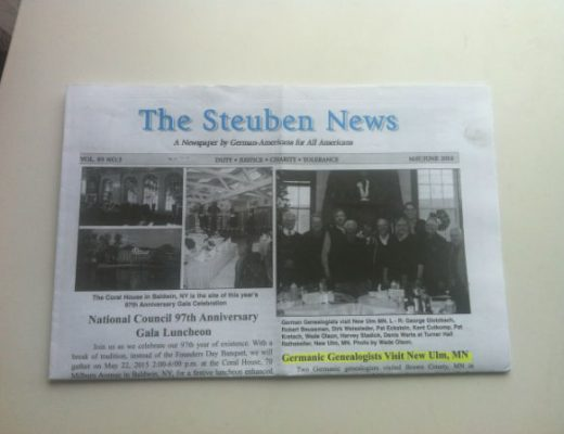 Cover The Steuben News