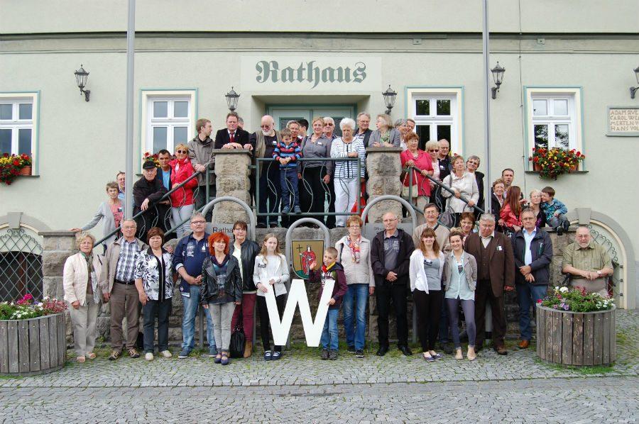 Ein weiteres Gruppenfoto der Gäste