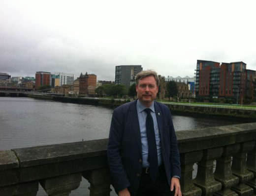 At the River Clyde in Glasgow